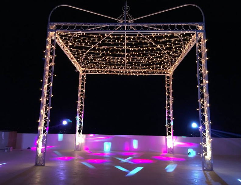 FAIRY LIGHTS – GAZEBO LIGHTING AT THE DIAMOND ROCKS VENUE
